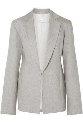 GEORGIA ALICE Double-breasted silk-tweed coat