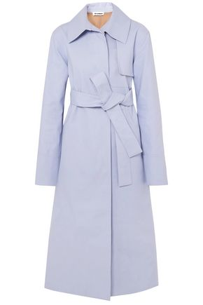 JIL SANDER Cotton-blend trench coat