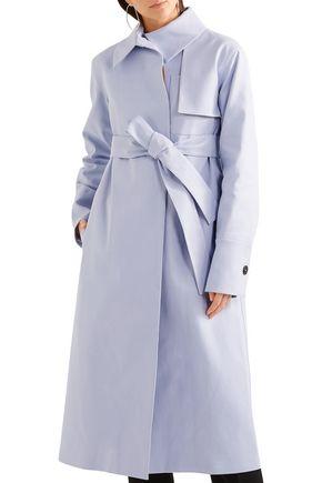 JIL SANDER Cotton-blend trench coat