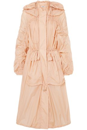 JIL SANDER Oversized hooded shell jacket