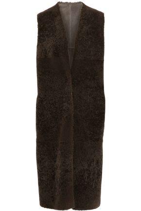 AGNONA Reversible shearling vest