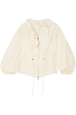 GIAMBATTISTA VALLI Ruffled taffeta jacket