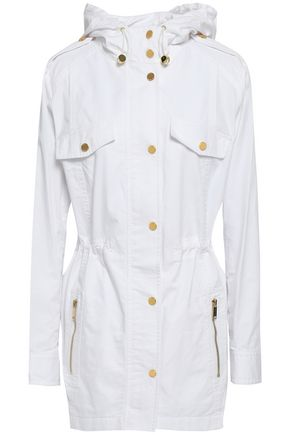 MICHAEL MICHAEL KORS Cotton-twill hooded coat