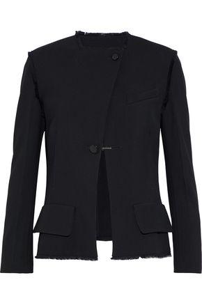 PROENZA SCHOULER Frayed crepe jacket
