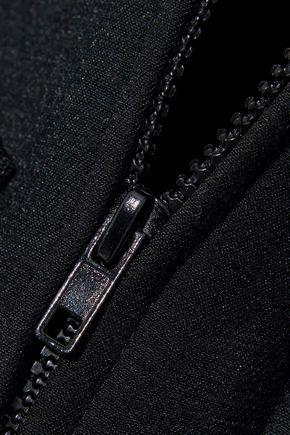 REDValentino Ruffle-trimmed cady jacket