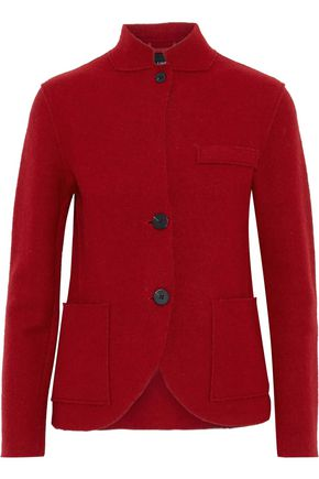LINE Benjamin cotton and wool-blend felt jacket