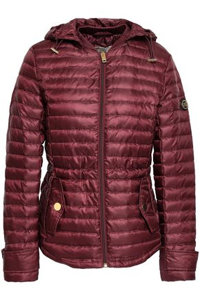 MICHAEL KORS Quilted shell hooded jacket