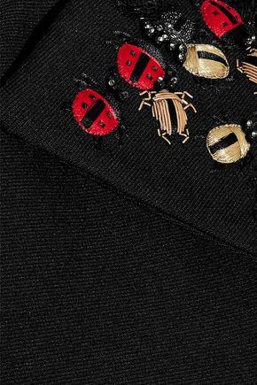 REDValentino クロップド 装飾付き コットン混ツイル ジャケット