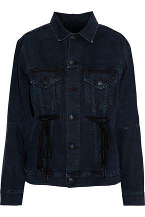 PROENZA SCHOULER PSWL Tie-detailed denim jacket
