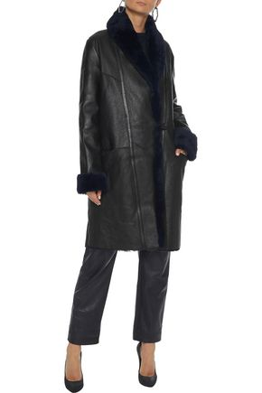 VEDA Estate reversible shearling coat
