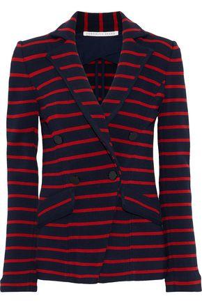 VERONICA BEARD Fontana striped cady blazer