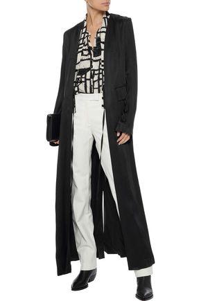 ANN DEMEULEMEESTER Kimora satin coat