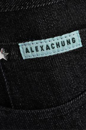 ALEXACHUNG High-rise bootcut jeans