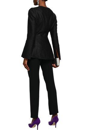 CAROLINA HERRERA Linen-blend tweed jacket