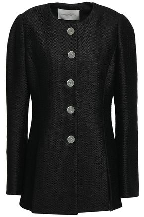 CAROLINA HERRERA Linen-blend tweed jacket