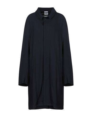 Фото - Легкое пальто от VETEMENTS x MACKINTOSH темно-синего цвета
