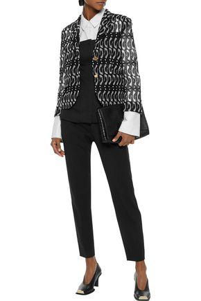 THOM BROWNE Guipure lace blazer