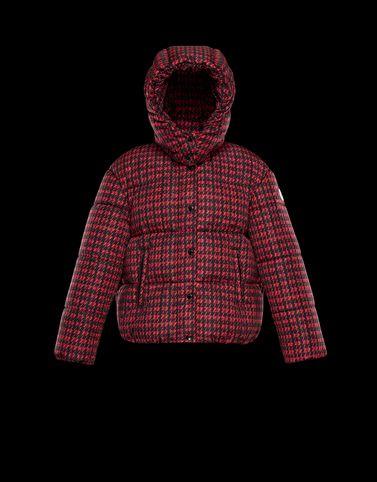 MONCLER CAILLE IMPRIMÉ - Short outerwear - women