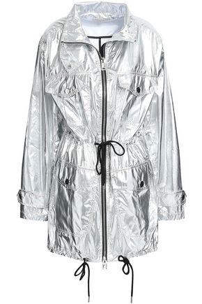 MICHAEL MICHAEL KORS Metallic shell hooded jacket