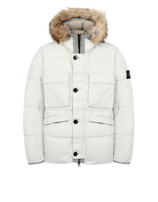STONE ISLAND Down jacket 42833 LINO RESINATO DOWN-TC