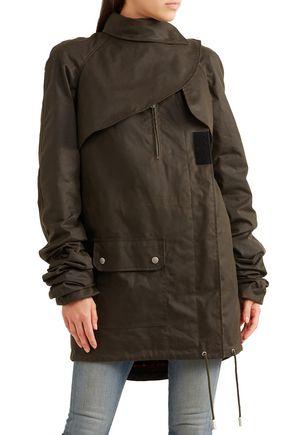 SAINT LAURENT Cotton-canvas jacket