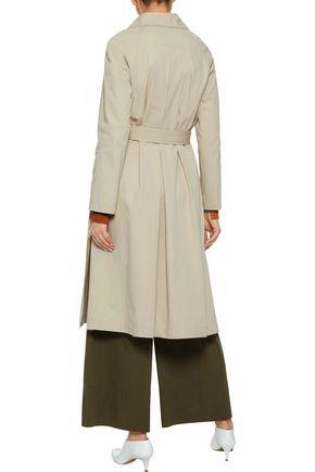 IRIS & INK Victoria cotton-gabardine trench coat