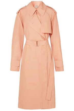 JASON WU Belted crinkled woven trench coat