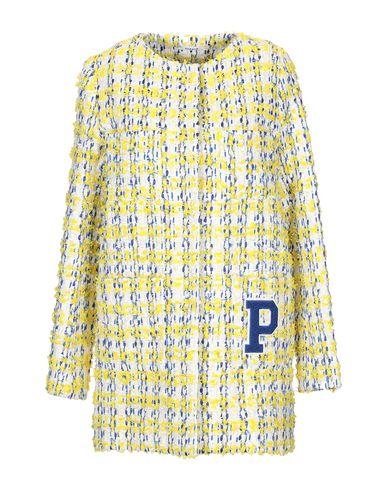 Фото - Легкое пальто от P.A.R.O.S.H. желтого цвета
