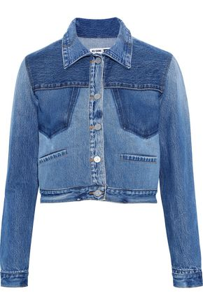 RE/DONE with LEVI'S Cropped denim jacket