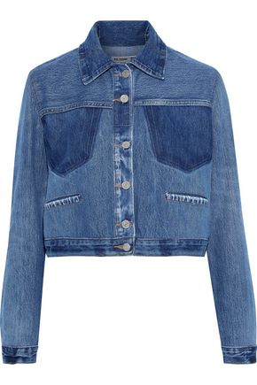 RE/DONE by LEVI'S Cropped denim jacket