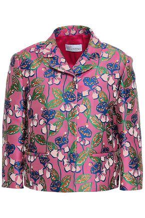 REDValentino Floral-jacquard jacket