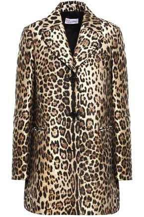 REDValentino Metallic leopard-print jacquard jacket