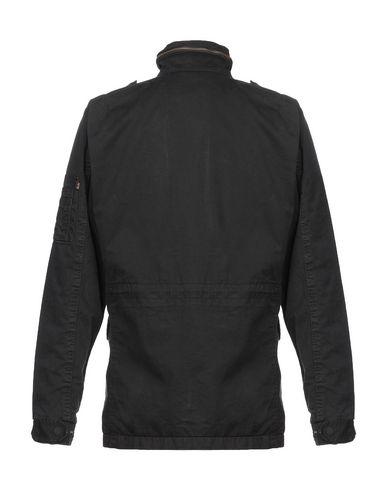 Фото 2 - Мужскую куртку ALPHA INDUSTRIES INC. черного цвета