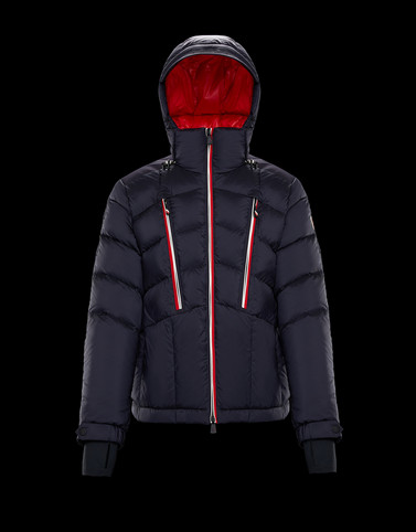 ARNENSEE Dark blue Down Jackets