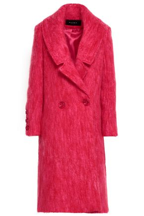 PAPER London Rainbow mohair-blend coat