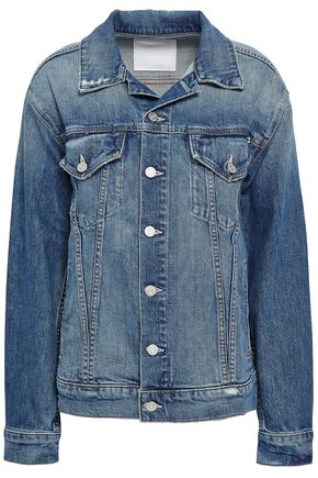 MOTHER Distressed denim jacket