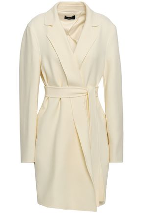 JOSEPH Greta belted stretch-wool coat