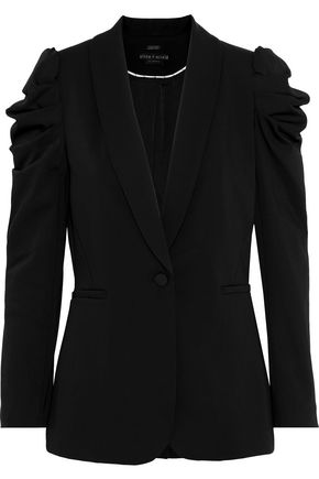 ALICE + OLIVIA Morina gathered cady blazer