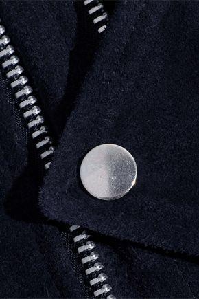 W118 by WALTER BAKER Kendra suede biker jacket
