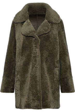 DOM GOOR Reversible shearling coat