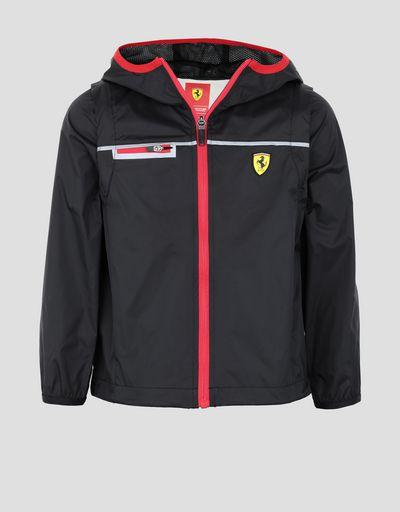 16ac4347972c Unisex children s Scuderia Ferrari rain jacket ...