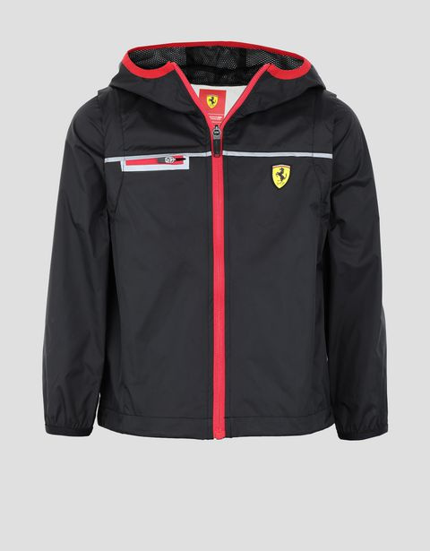 Scuderia Ferrari little boy's and girl's rain jacket