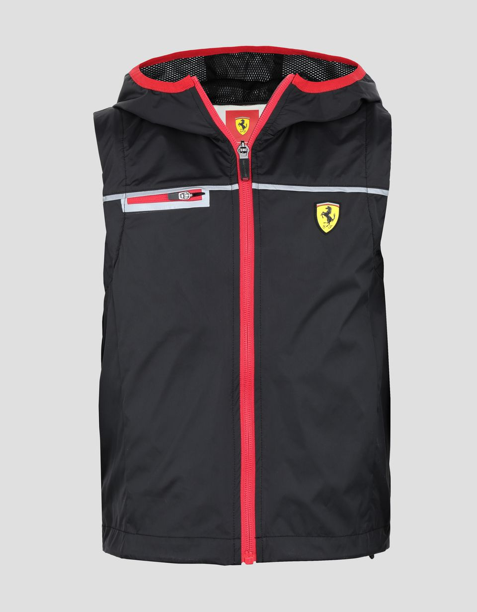 Scuderia Ferrari Online Store - Scuderia Ferrari little boy's and girl's rain jacket -