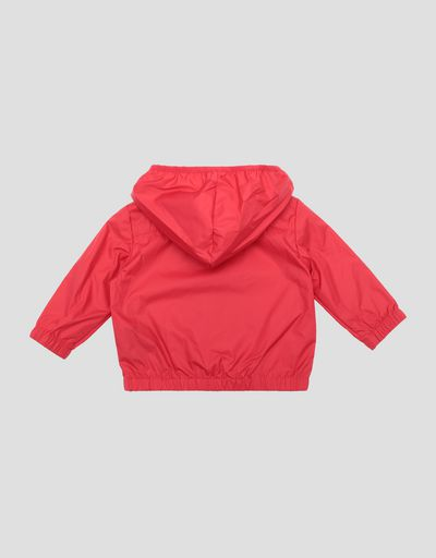 Infant water resistant jacket with Ferrari Shield
