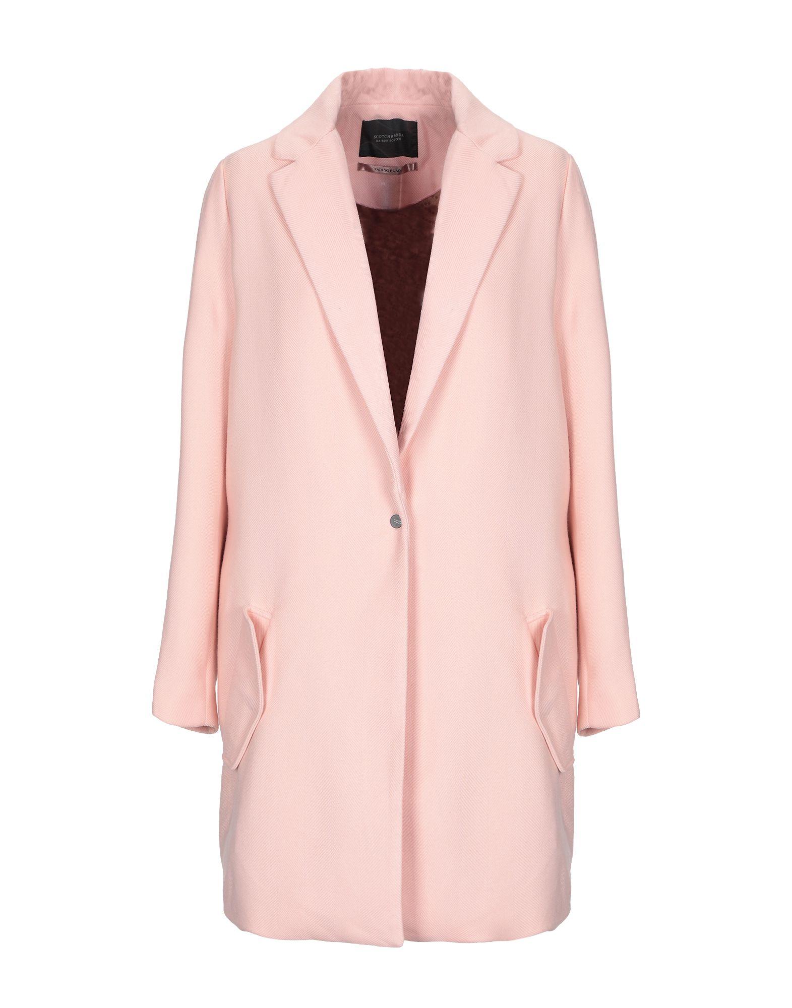 MAISON SCOTCH Пальто цена 2017