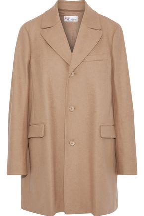 REDValentino Wool-blend felt coat