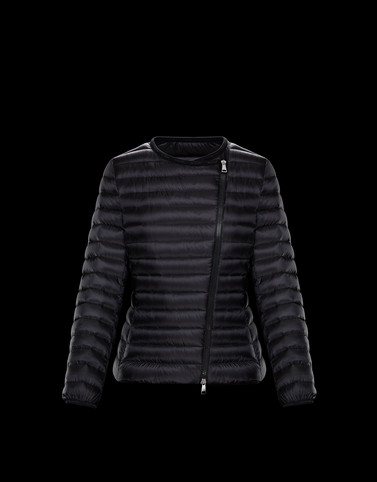 LONDRES Black Short Down Jackets Woman