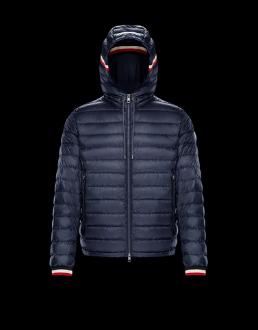 GIROUX Dark blue Category Outerwear Man