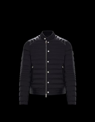MONCLER BARRAL - Biker jackets - men