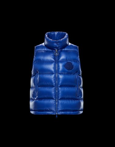 buy online cc43f dbd5d Moncler HELSINKI for Woman, Vests | Official Online Store